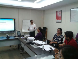 Dr(Prof) Ashok Bhagat-Dean IB JIMS, Sector-5, Rohini conducted one day In -house MDP