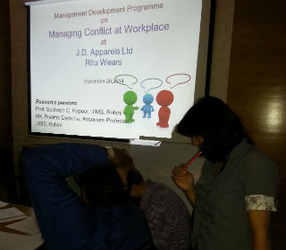 Managing Conflicts at Work place
