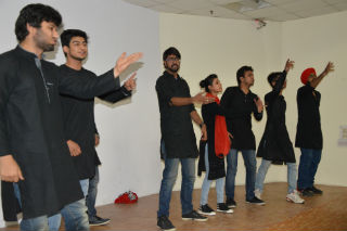 Students JIMS Rohini Sector-5 Delhi