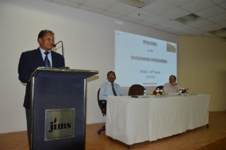 PGDM Orientation programme at JIMS Rohini Campus