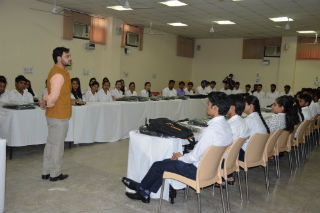 PGDM-IB & RM Orientation programme at JIMS Rohini Campus