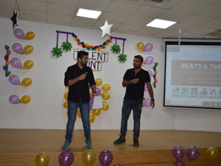 PGDM department organised an event called Beats & Thrills