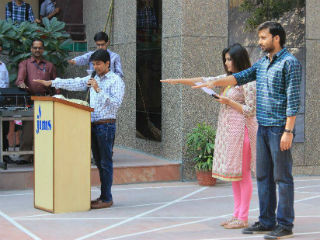 Jagan Institute of Management Studies takes the Swacch Bharat Abhiyan