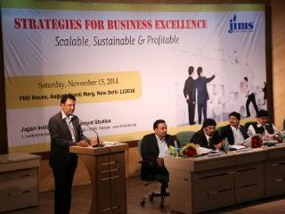 Dr. J.K. Jain, Professor,  MDI, Gurgaon