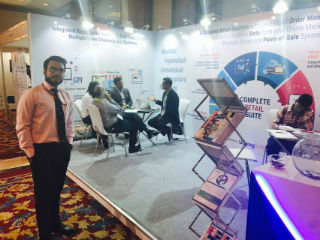 JIMS PGDM-RM Students at Retail Summit & Expo (RISE)