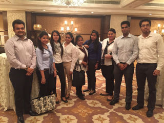 JIMS PGDM students participated in the activity organized by HSBC-ET
