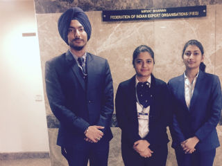 JIMS PGDM-IB Students attended FIEO Summit on Interactive session with RBI, FEDAI and IBA