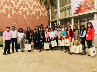 Visit to Karmaarth of PGDM-IB Students on 1st Dec 2017