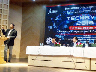 students and guests TECHBYTE 2016, JIMS Rohini Delhi