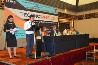 JIMS TechnoWhiz 2018 Write-up Annual InfoTech Symposium Theme- Understanding Industry 4.0