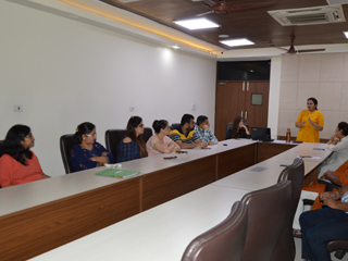 JIMS Rohini Organised Faculty Talk Series by Ms. Geeta Sharma and Dr. Parminder Bajaj