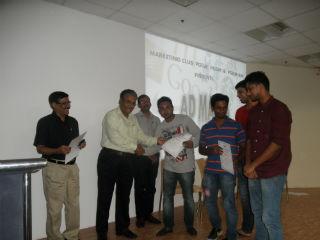 Dr. Ashok Bhagat, Dean (IB) and Prof. Subhash Kapoor