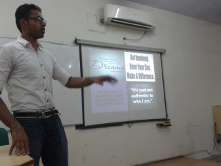 Workshop wasorganized by Finance club, Jims, Rohini
