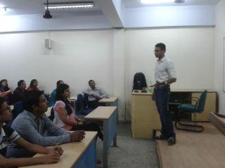 Mr. Shray Aggarwal, alumni, Jims 2012-14 batch