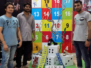 Live Display done by PGDM- Retail & Marketing Batch 2013-15