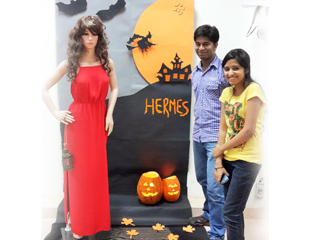 window display activity was held for PGDM- Retail & Marketing students