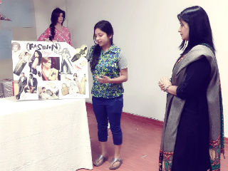 mood board activity JIMS PGDM Retail Management Students