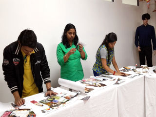 A mood board activity was conducted for PGDM- RM Students