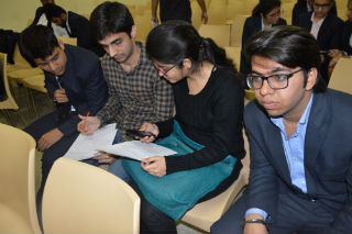 JIMS PGDM students