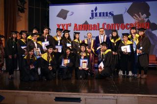 21STAnnual convocation JIMS Rohini