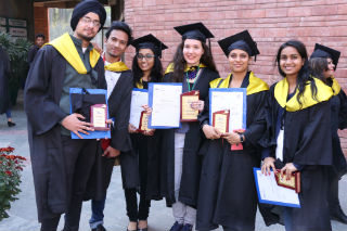 Annual convocation for PGDM, PGDM-IB, PGDM –RM, MCA, BCA, BBA JIMS Rohini Sector-5 Delhi
