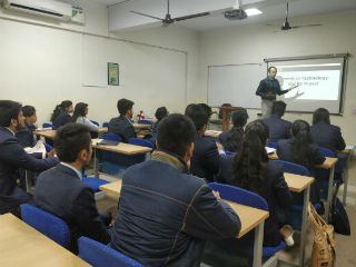 Guest Lecture for PGDM-RM,  JIMS, Rohini Sector-5 Delhi