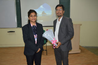 An impressive guest session was organised for PGDM-1st year students