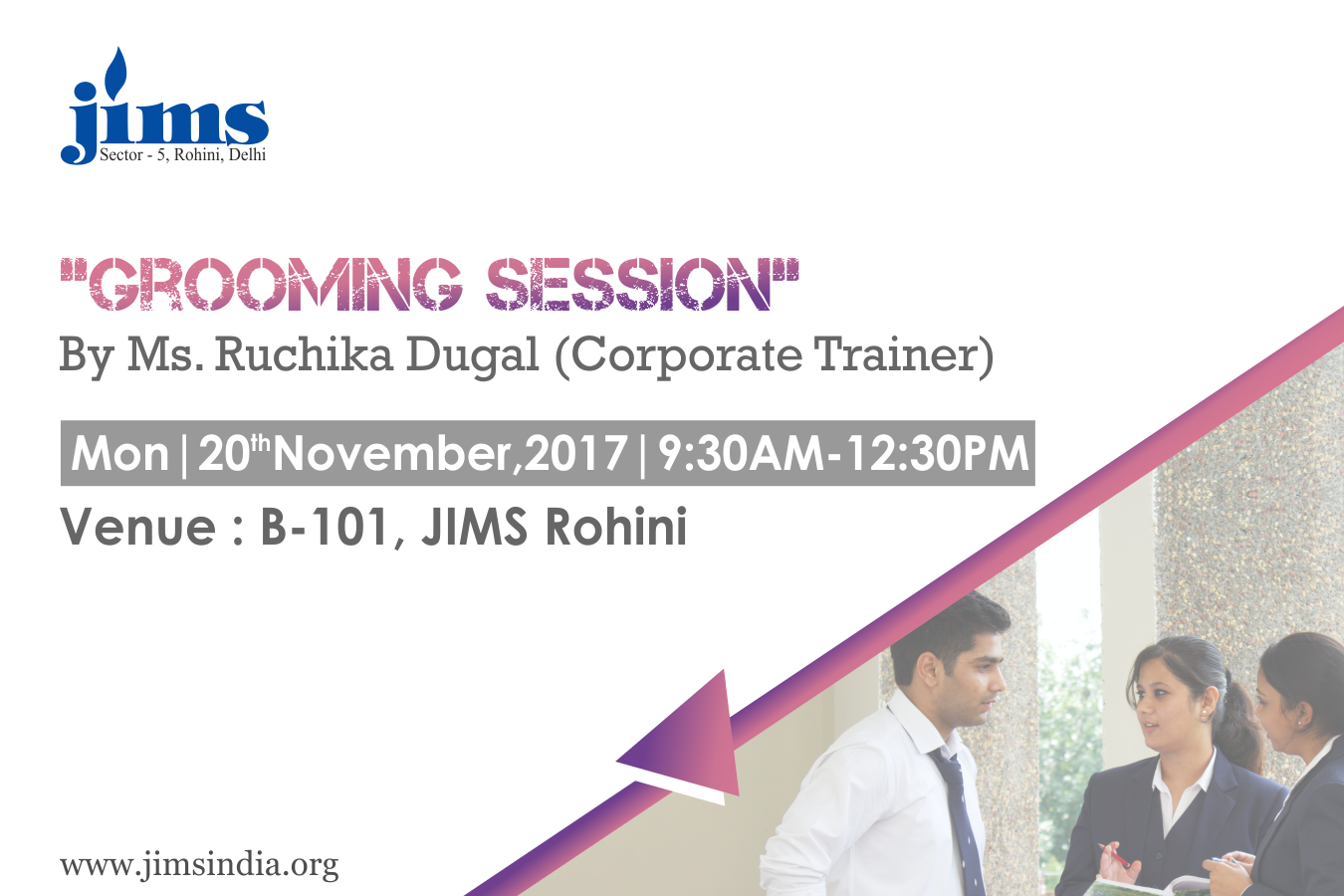 Grooming session 20 nov 2017