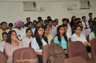 Guest Lecture on Shipping and Customs Clarence of Goods Jagan Institute of Management Studies (JIMS), Rohini Sector-5
