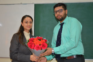 JIMS Rohini organised Guest Lecture on Professional Ethics & Frauds