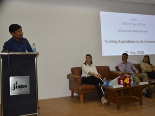 Alumni Interaction Session on Turning Aspirations to Achievements