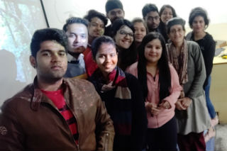 JIMS Rohini Literary Society Organised We mean it an activity by Expression
