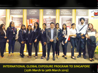 JIMS Rohini organised PGDM Department of JIMS Rohini organised a Global Exposure Program Singapore for PGDM Batch (2018-20)