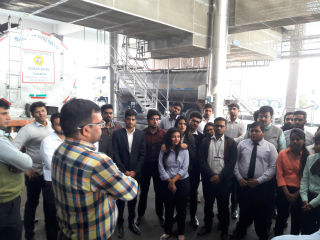 JIMS Rohini organised Industrial Visit for PGDM-International Business students to Banas Dairy-A Unit of AMUL