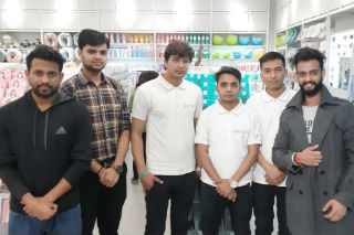 JIMS Rohini organised Retail Store Visit for the students of PGDM-Retail Management