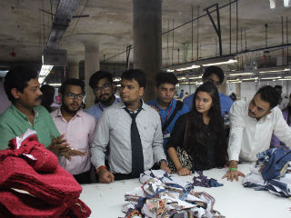 JIMS PGDM-RM Students at Neetee Clothing Pvt. Ltd