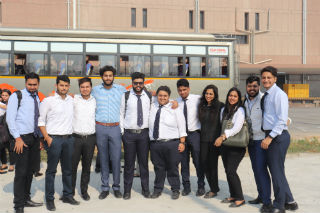 JIMS Rohini organised Industrial Visit to Amul Dairy