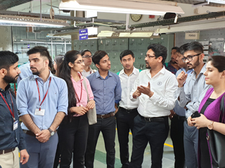 JIMS Rohini Organised an Industrial Visit for PGDM-RM Students at Neetee Clothing PVT Ltd. Gurugram