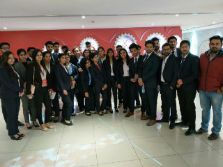 PGDM Students Industrial Visit to Coca Cola Happiness Factory