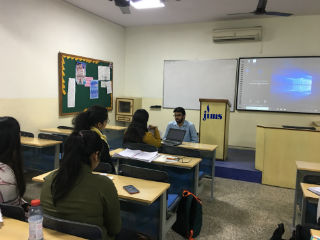 JIMS Rohini Organised session on Preparatory tips to crack an interview