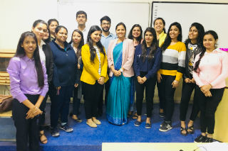 PGDM students at JIMS