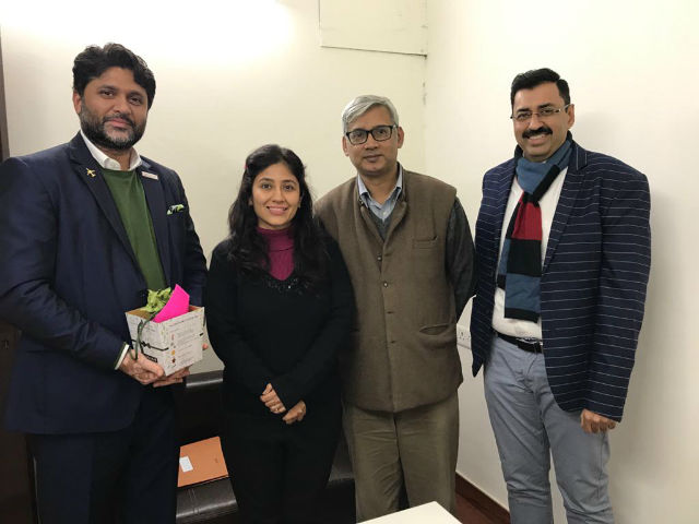 JIMS PGDM-IB organised a Business Plan presentation for first year students on 16th Dec 2019.