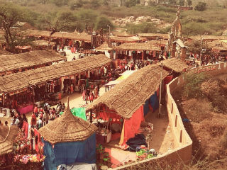 JIMS Rohini Organized A trip to Surajkund International Crafts Mela