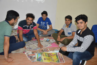 PGDM-IB Students JIMS Rohini Sector-5 Delhi