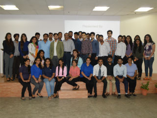 PGDM- IB (2015-17 Batch) students