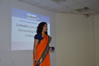 Guest Lecture on -how to make an effective LinkedIn Profile.
