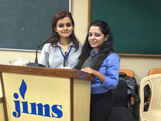 JIMS HR CLUB SAMANAVY organized workshop MANAGING YOUR BSC