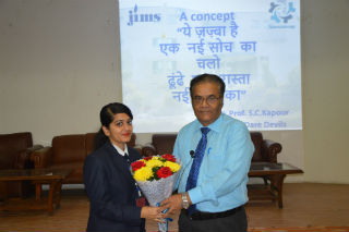 Samanvay (HR club) Jims organized a focused and live workshop