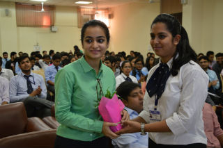 A workshop was conducted  on Digital Marketing for PGDM  students