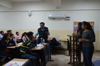 JIMS Rohini organized a session of social sensitization for transgender community with NGO PAHAL